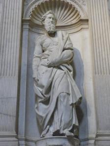 St. Paul by Michelangelo