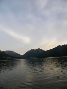 """The """"sea""""  from Schliersee"""