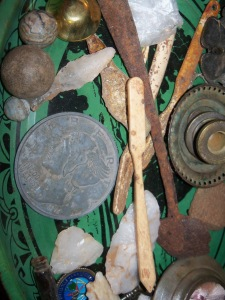 Items found on the grounds of Robert Bolling's Chellowe